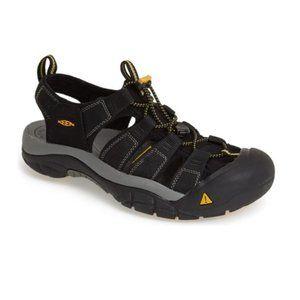 Keen Men's Water Shoes Newport H2 Sandals - Black